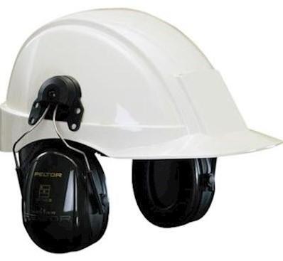 3M Peltor Optime II H520P3E gehoorkap met helmbevestiging