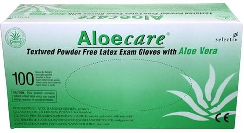 AloeCare handschoenen Poedervrij