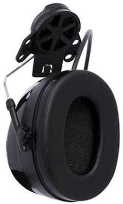3M Peltor Worktunes Pro FM Radio gehoorkap met helmbevestiging