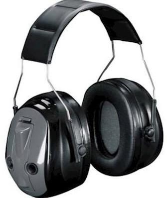 3M Peltor Optime Push To Listen gehoorkap met hoofdband