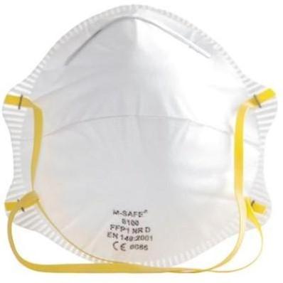 M-Safe 6100 stofmasker FFP1 NR D
