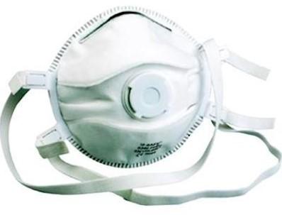M-Safe 6340 stofmasker FFP3 NR D met uitademventiel
