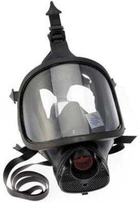 Spasciani TR 82 volgelaatsmasker met krasbestendige ruit