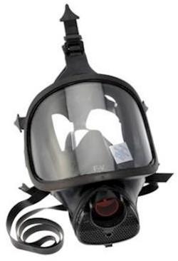 Spasciani TR 82 volgelaatsmasker met veiligheidsglas