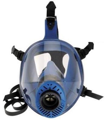 Spasciani TR 2002 CL2 blauw TPE volgelaatsmasker
