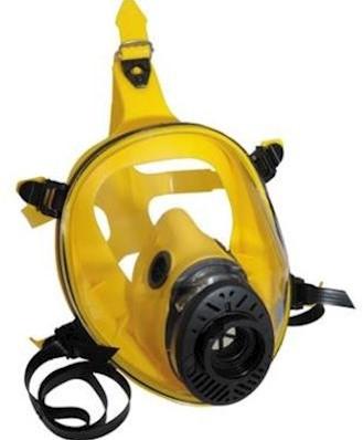 Spasciani TR 2002 CL3 geel siliconen volgelaatsmasker