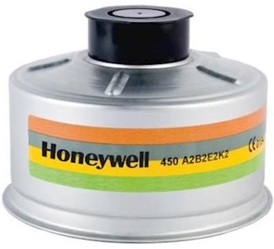Honeywell gas- en dampfilter A2B2E2K2