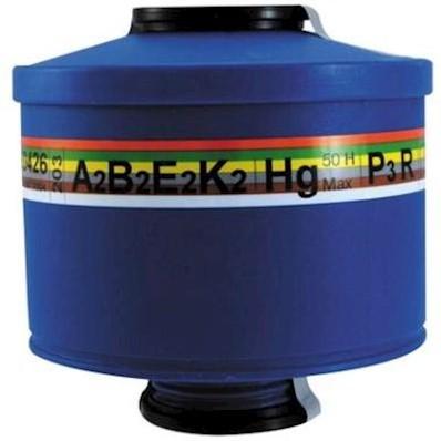 Spasciani 203 combinatiefilter A2B2E2K2Hg-P3 R