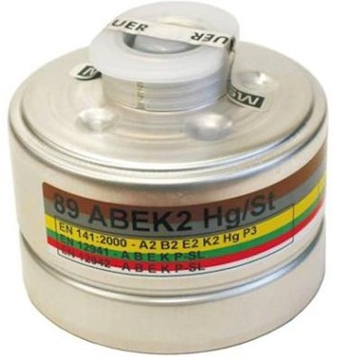 MSA 93 combinatiefilter A2B2E2K2Hg-P3 R D