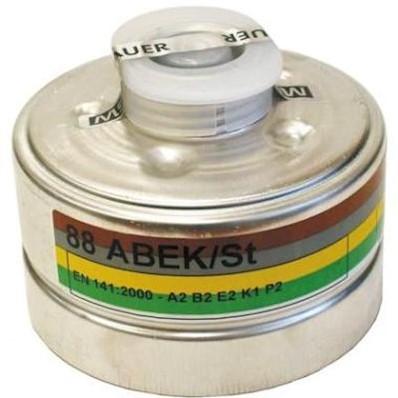 MSA 92 combinatiefilter A2B2E2K1-P2 R D