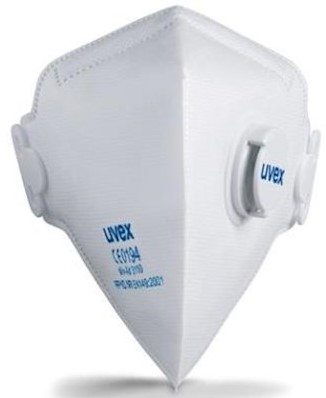uvex silv-Air 3110 stofmasker FFP1 NR D met uitademventiel