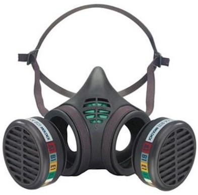 Moldex 8001 halfgelaatsmasker