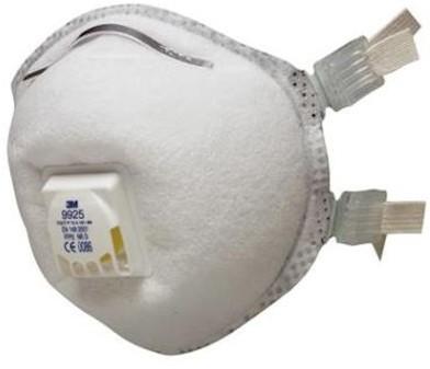 3M 9925 stofmasker FFP2 NR D met uitademventiel