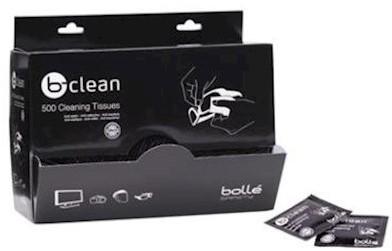 Bollé B500 dispenser met reinigingsdoekjes