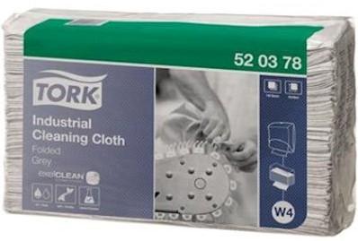 Tork Industrial Cloth Folded Grey werkdoek