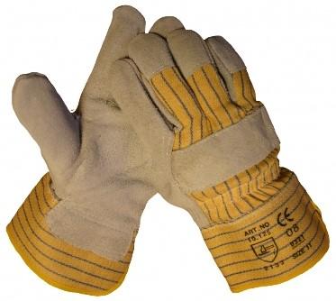 Lederen Werkhandschoen Splitleder A-kwaliteit