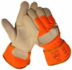 Werkhandschoen Fluoricerend Oranje