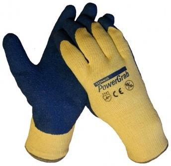 Towa Powergrab Latex Blauw werkhandschoenen