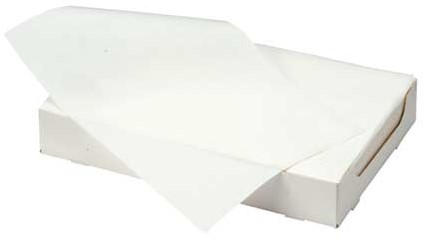 Filterpapier 18x28cm wit