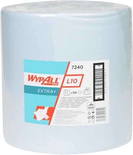 Wypall L10 Extra+ Poetsdoek Grote rol 7240