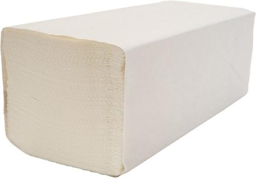 Vouwhanddoekjes M-vouw 2-laags wit