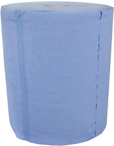 Handdoekrol Rol-o-matic blauw