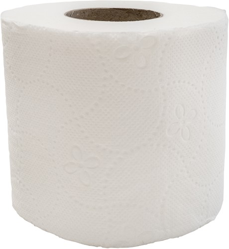 Toiletpapier Cellulose (12x4) 2-laags