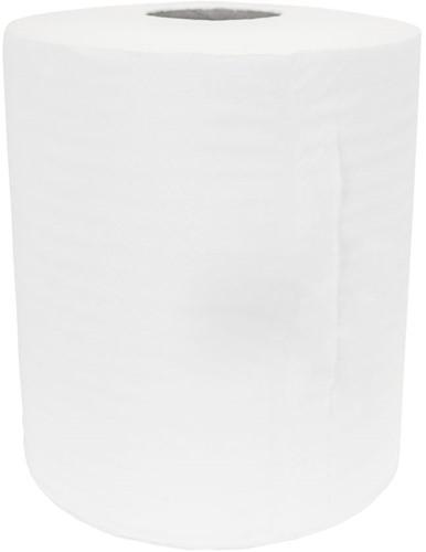 Midi rollen cellulose (20cmx275m) 1-laags 6 stuks