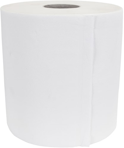 Midi rollen cellulose (20cmx160m) 2-laags 6 stuks