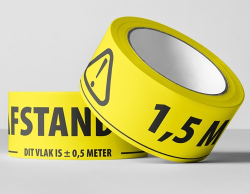 1,5 meter afstand tape