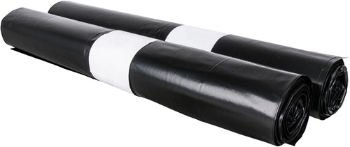 Afvalzak LDPE PET 70mu 95x120cm (10x10stuks)