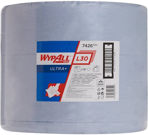 Wypall L30 Ultra+ Poetsdoek Grote rol 7426